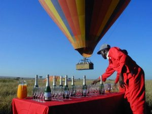 Balloon-Safari in Kenia (Foto: Eventives GmbH)